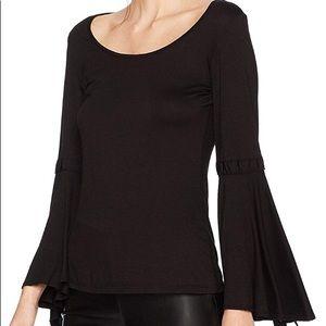 NWT Max Studio women's flared sleeve top!